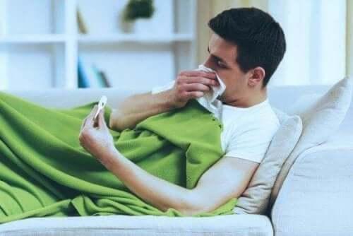Основні відмінності між застудою та грипом