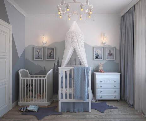 Найкращі кольори для дитячої кімнати