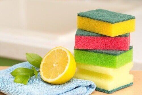 лимон для очищення дека для запікання