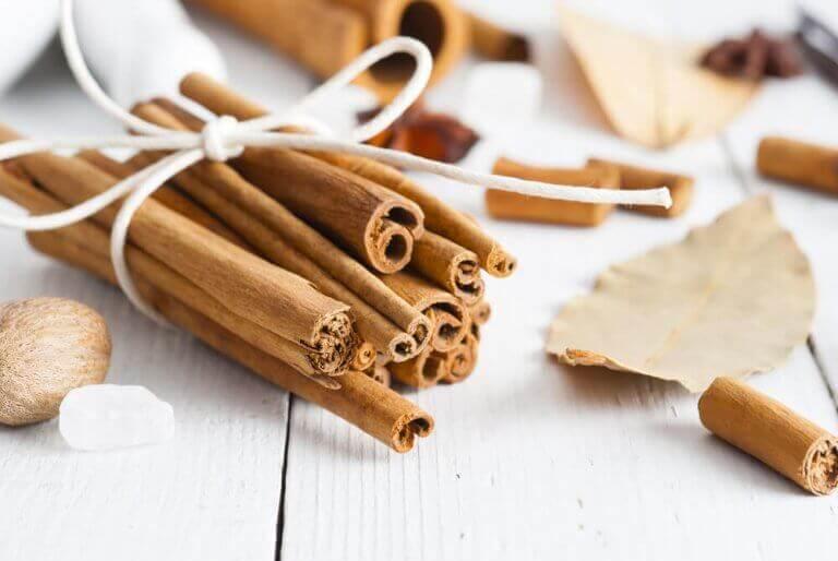 ароматичні мішечки з корицею