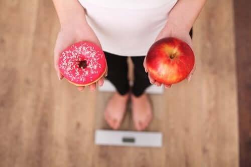 бажання солодкого збільшує набирання ваги