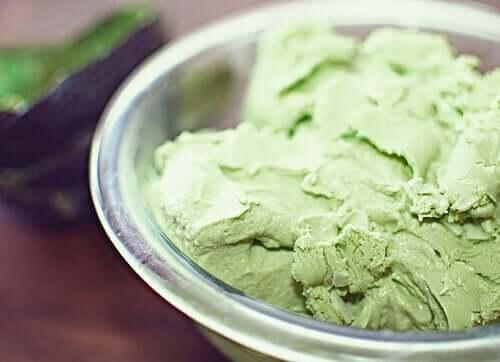 морозиво з авокадо