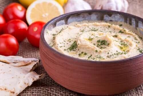 рецепт простого хумусу