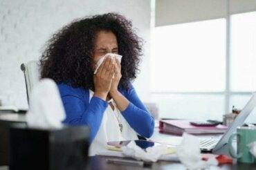 Як розвивалася алергія