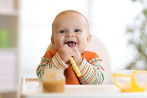 Відлучення дитини від грудей: як почати вводити їжу