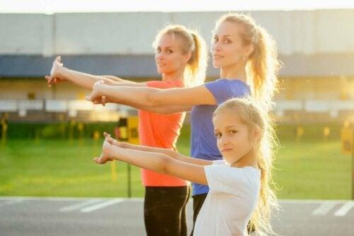 корисні вправи з кросфіту для дітей